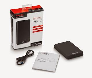 Toshiba Canvio Basics 3.0 1TB portable hard drive review