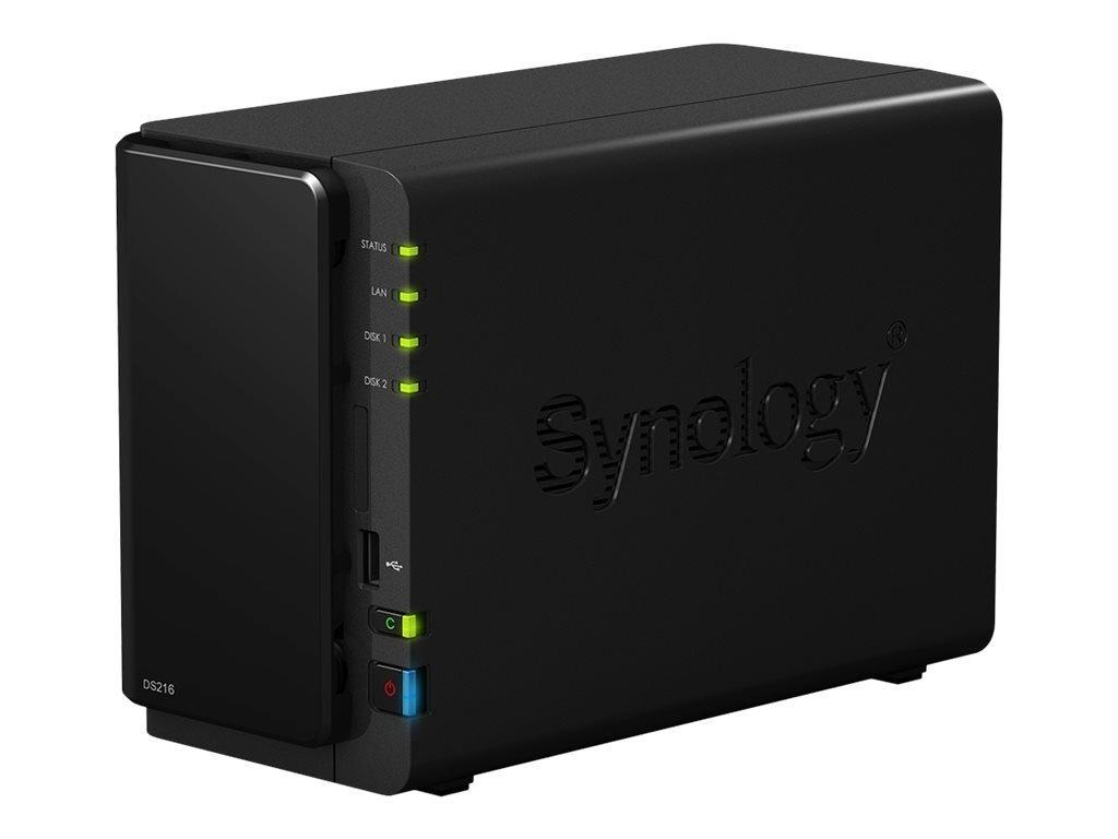 Synology Disk Station 2-Bay (DS216) back
