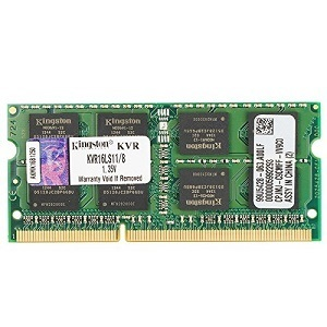 Kingston Technology 8GB 1600MHz DDR3L (PC3-12800) 1.35V Non-ECC CL11 SODIMM Intel Laptop Memory KVR16LS11/8 review