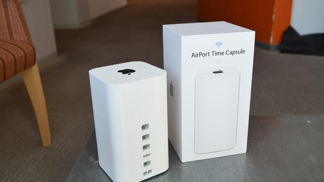 Apple Time Capsule Backup on Macbook