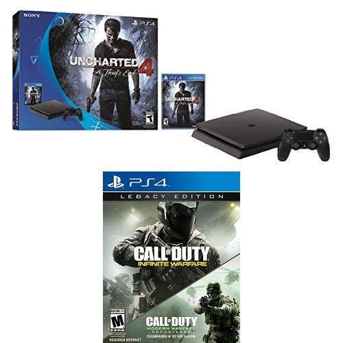 playstation-4-slim-500gb-uncharted-4-bundle-call-of-duty-infinite-warfare-legacy-edition