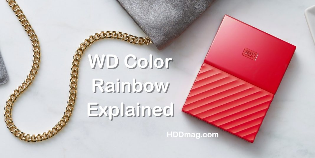 Western Digital HDD Colors Explained