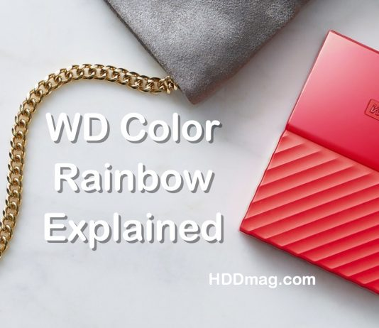 wd colors explained