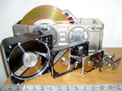 HDD sizes