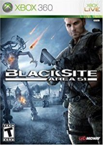 Blacksite area 51 Xbox game