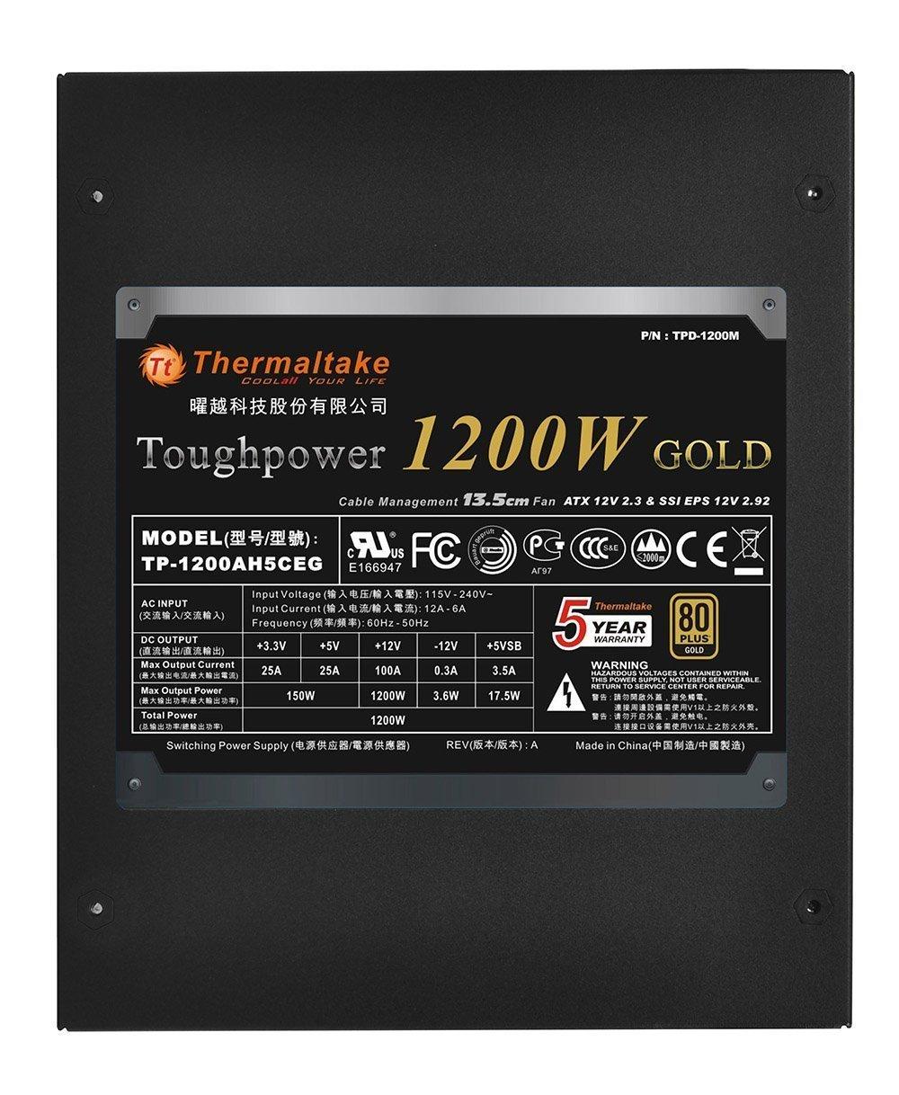 Thermaltake TOUGHPOWER 1200W review