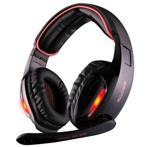 Sades SA902 7.1 Channel Virtual USB Surround Stereo Wired PC Headset