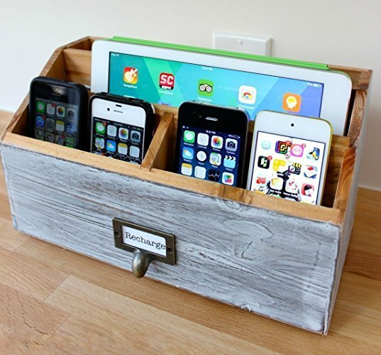 Cell Phone and Tablet Charging Station.