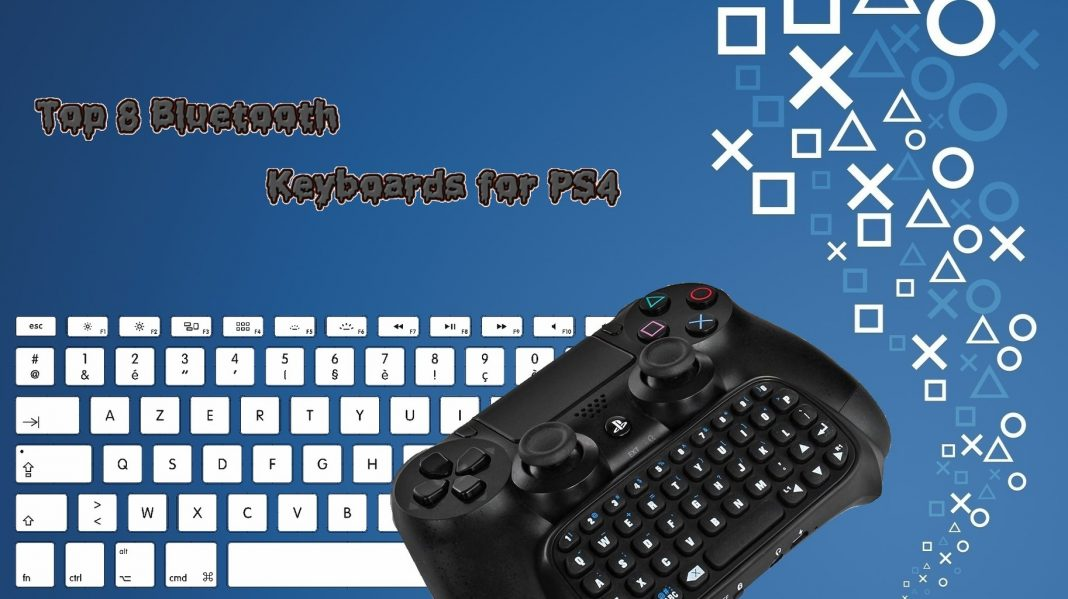 71999f460ad Top 8 Best Bluetooth Keyboards for PS4 [2018]