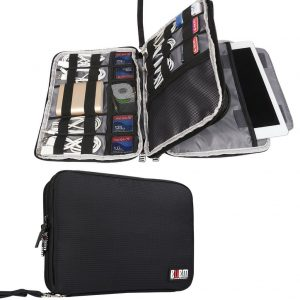 BUBM Double Layer Travel Gear Organizer