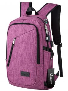 College Backpack, Mancro Laptop Bag