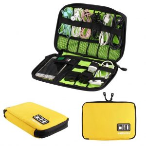 HEXIN Universal Double Layer Travel Gear Organizer