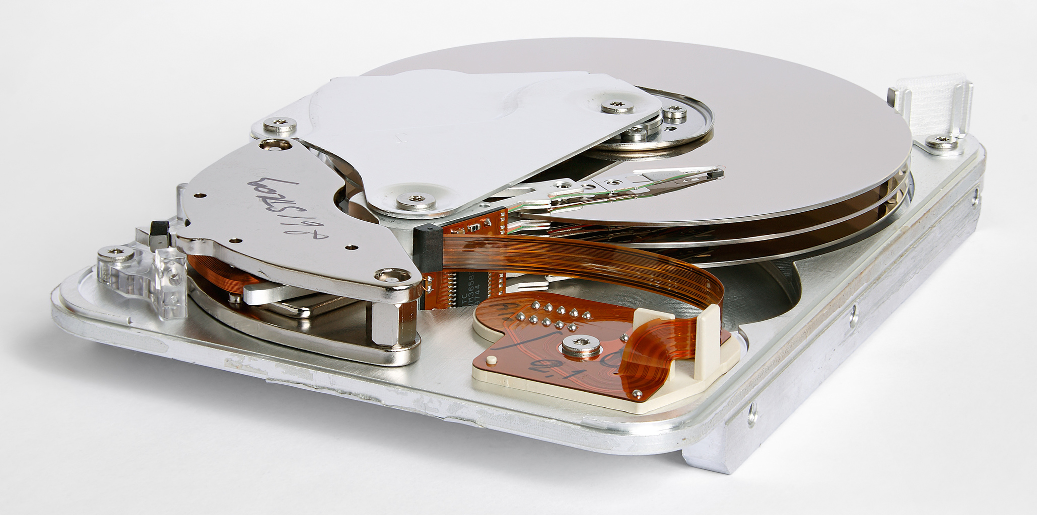 Hard drive spindle speed