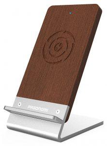 Pasonomi Wood Qi Wireless Charging Stand