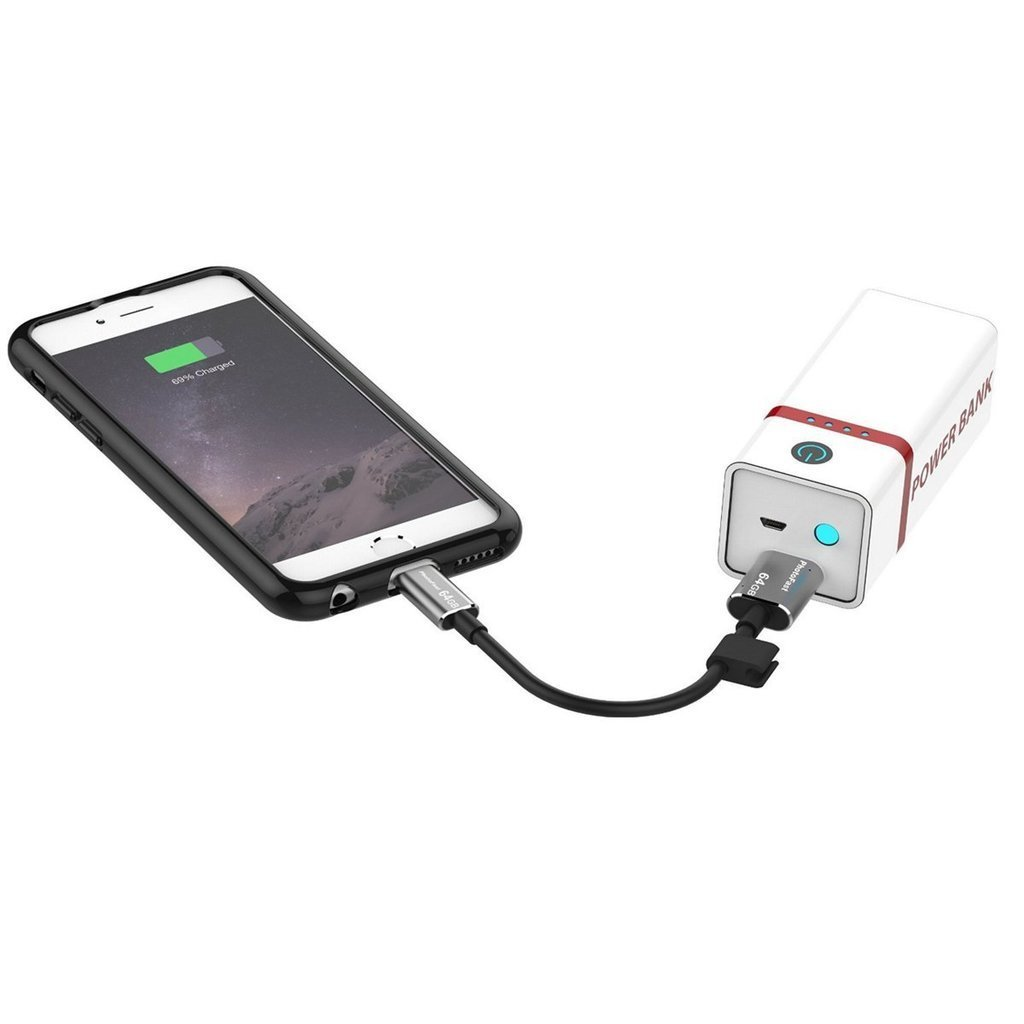 Photofast connected with power bank