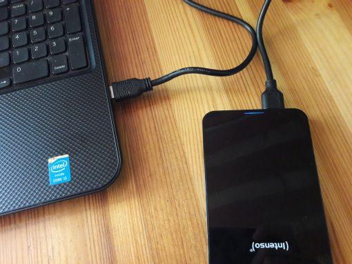 Intenso external hard drive