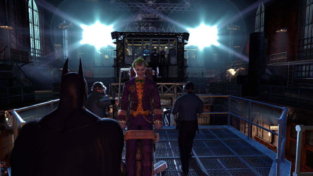 Batman gamepay
