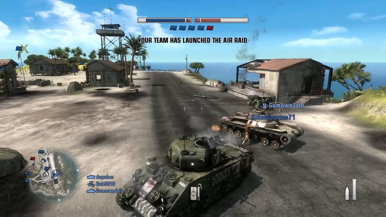 Battlefield 1943 gameplay