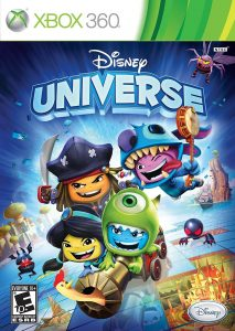Disney Universe Xbox 360 packaging