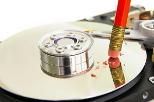 How to destroy hard drive data, erasing wipe tool
