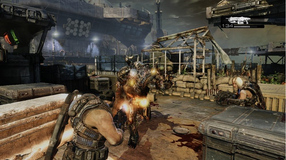 gears of war gameplay