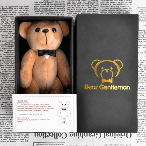 Bear Gentleman 130dB Personal Alarm Safety Security Self-Defense Rape Rob review
