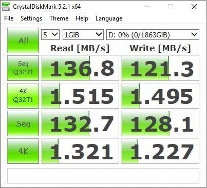 Firecuda 2.5 benchmark