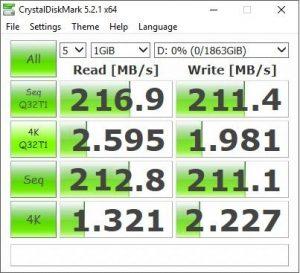 Firecuda 3.5-inch benchmark