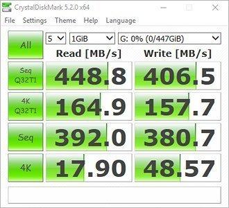 MyDigitalSSD 480GB (512GB) OTG V2 SuperSpeed USB 3.1 Gen 1 Portable SSD with UASP Support - MDMS-OTG-512