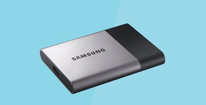 Samsung T3 portable external SSD drive review and specs