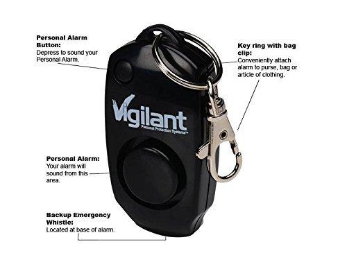 Vigilant 130dB Personal Keychain Alarm Review