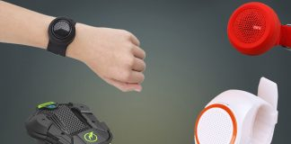 Wrist speaker featured