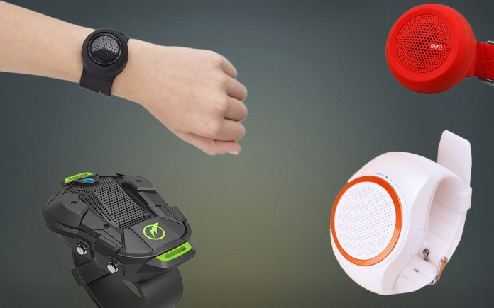 Wrist speaker featured
