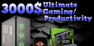 3000$ PC build