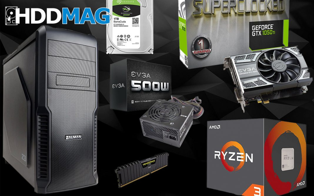 best gaming pc build for 500 2018