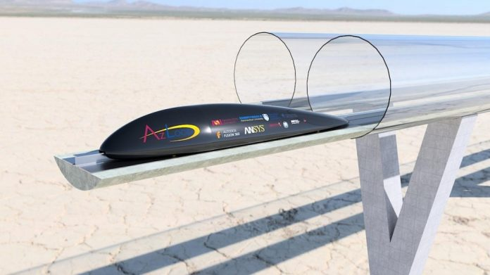 AZLoop Wows Local Competition with Future Transport Prototype