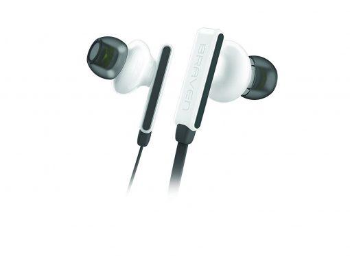 Braven Flye Sport Bluetooth Earbuds - White