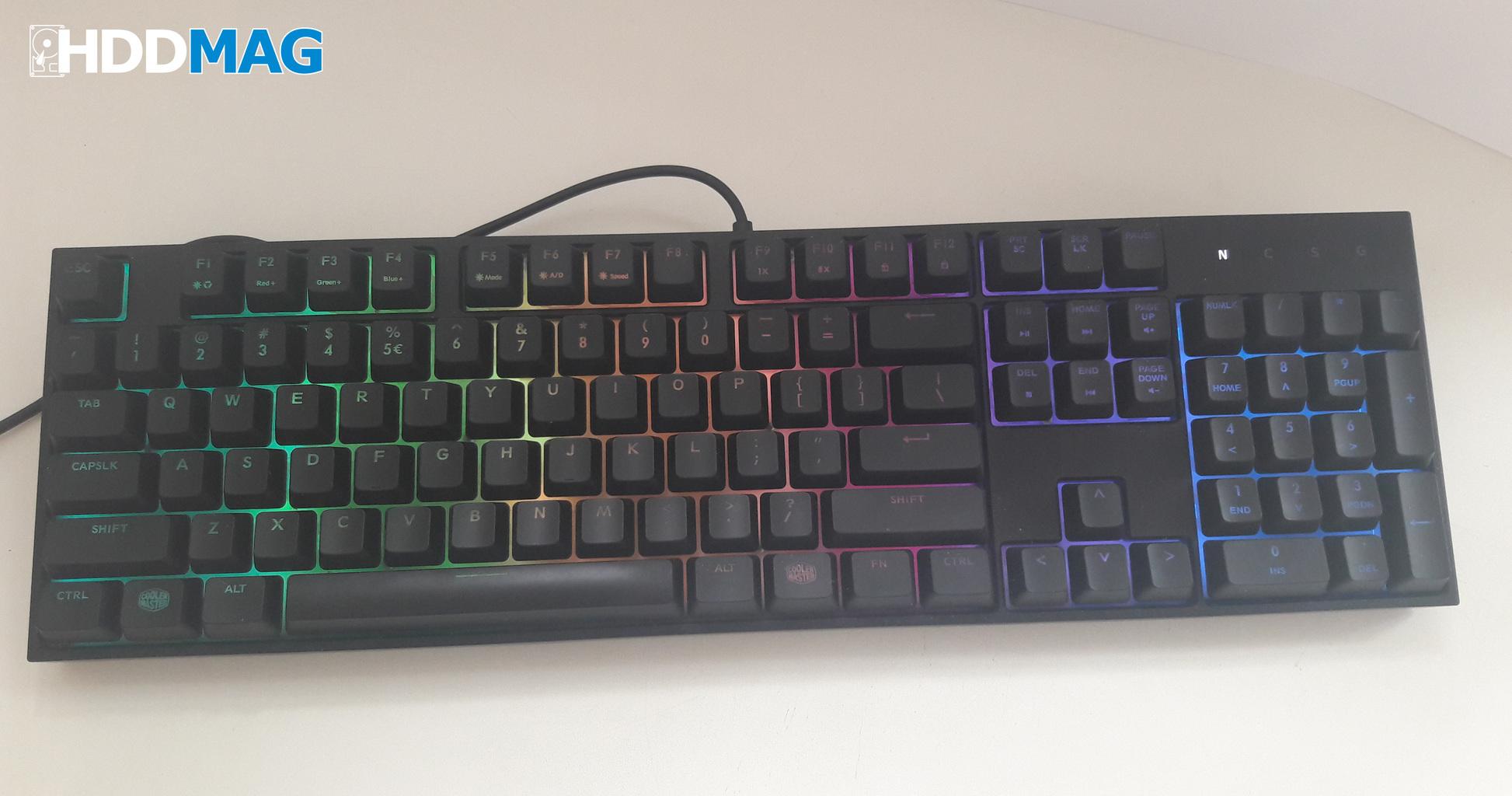Cooler master keyboard