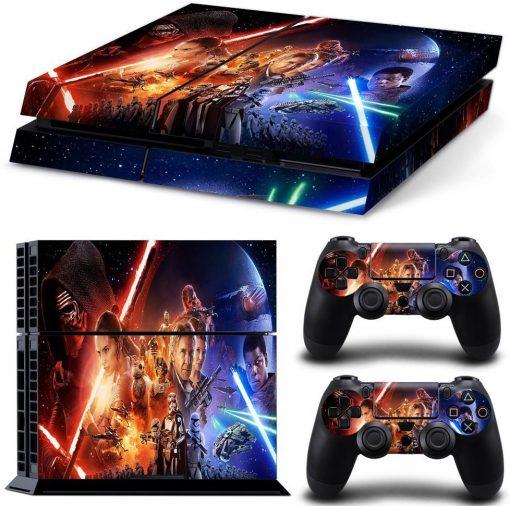 best star wars sticker skin for PS4