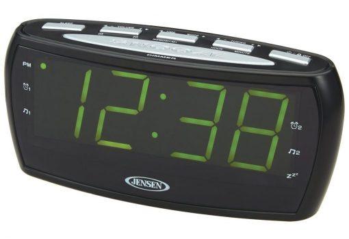 Jensen JCR-208A AM/FM Alarm Clock Radio
