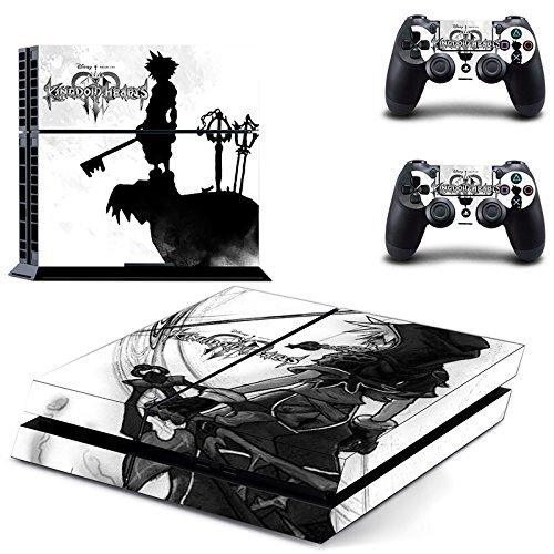 Junsi Kingdom Hearts Body Skin Sticker Decal for PS4