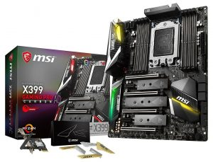 MSI Gaming TR4 motherboard