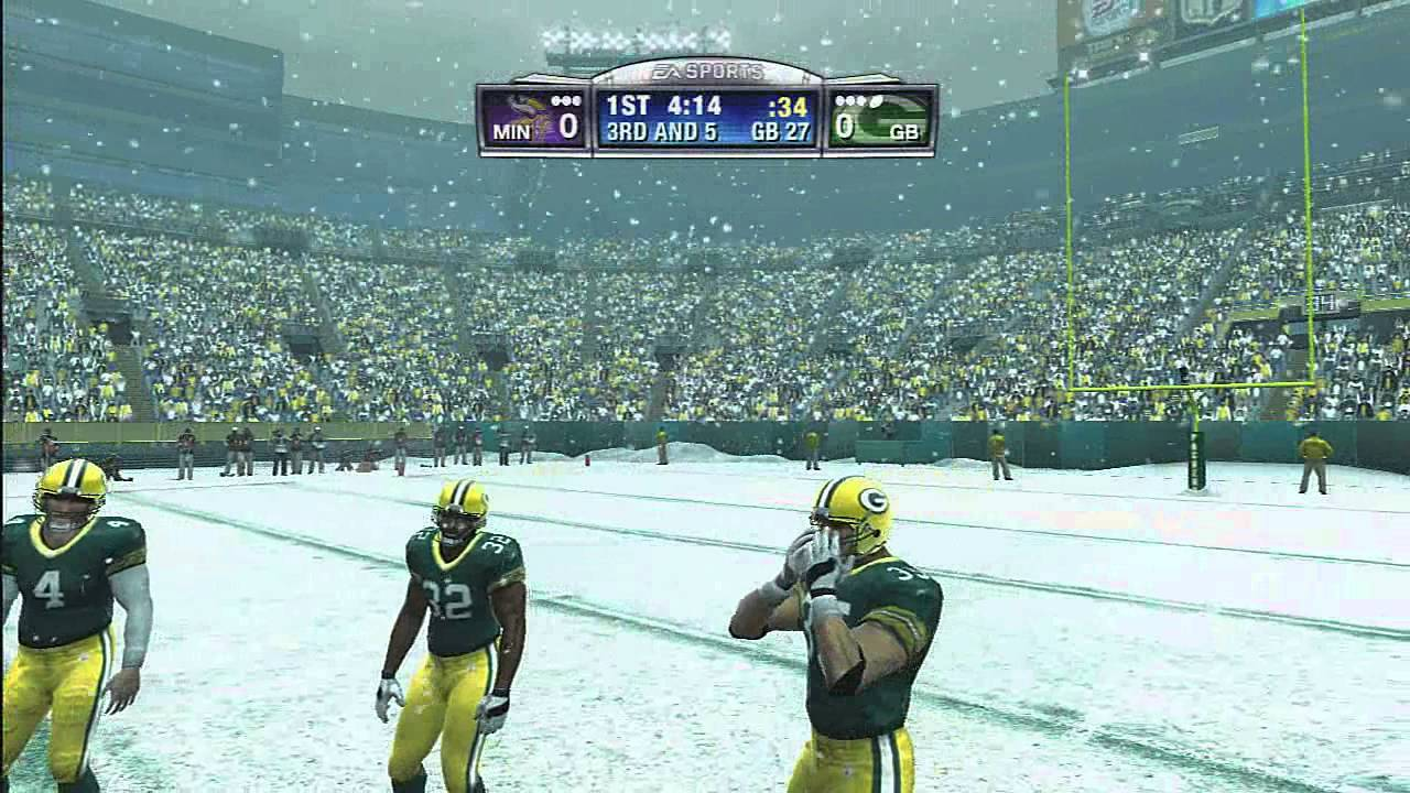 Madden 09 xbox gameplay