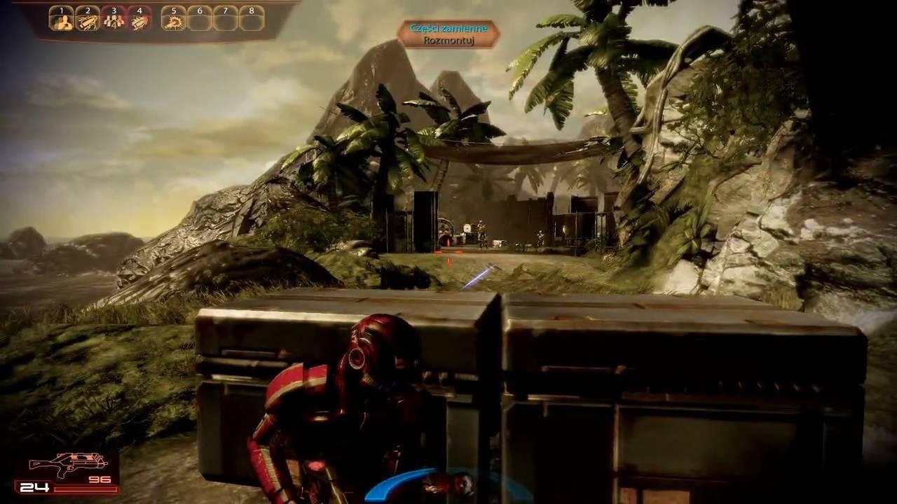 Mass Effect 2 gameplay