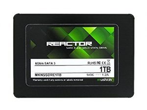 Mushkin Reactor 1 TB, cheapest SSD, best SSD, fastest SSD