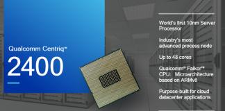 Qualcomm Unveils Centriq 2400 Details at Hot Chips Symposium