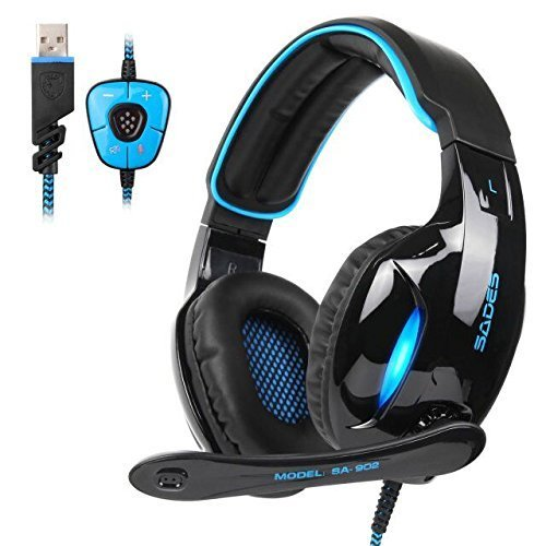 SADES SA902 PC Gaming Headset 7.1