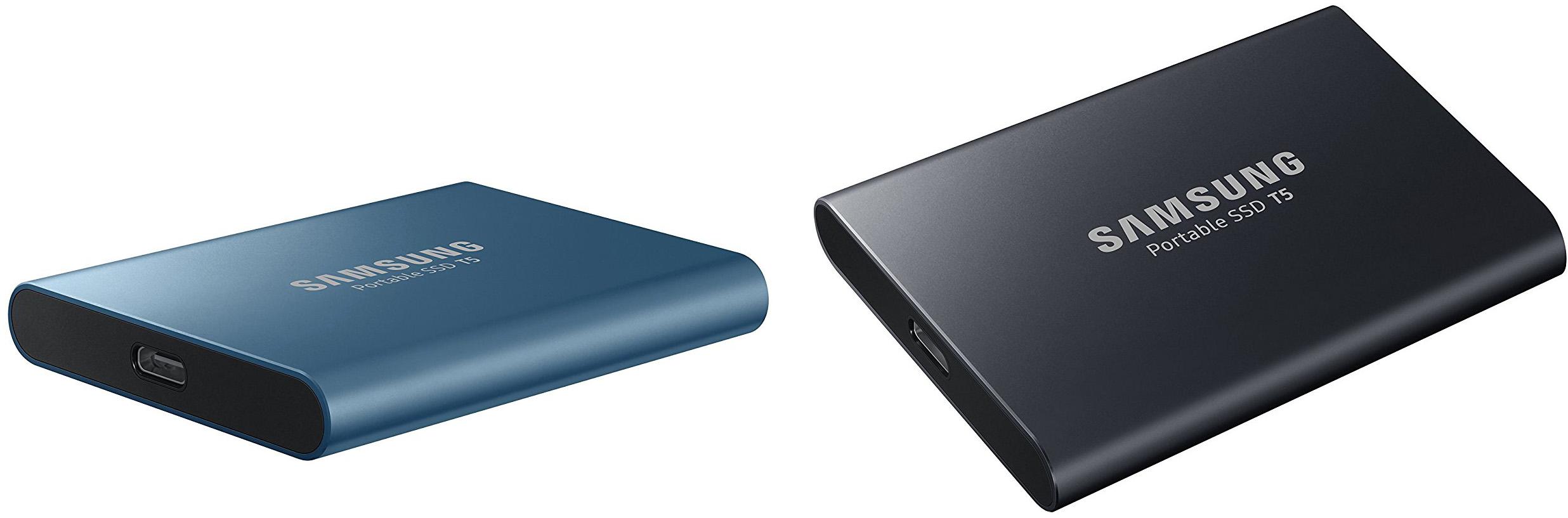 Samsung T5 design