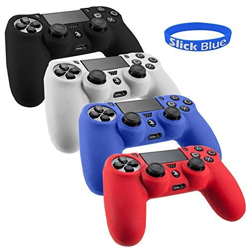 SlickBlue Flexible PS4 Silicone Protective Case