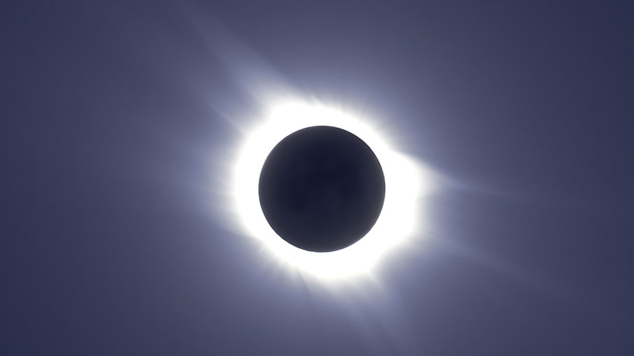 Visually impaired total eclipse